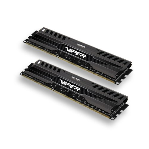 Patriot 8GB 2x4GB Viper III DDR3 1866MHz PC3 15000 CL9 Desktop Memory With Saphire Blue Heatsink- PV38G186C9KBL...