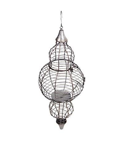 Privilege Iron Morocco Lantern, Aluminum