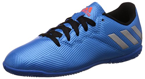 adidas Boy's Messi 16.4 In J Shoblu, Msilve and Cblack Sports Shoes - 10 Kids UK/India (28 EU)  available at amazon for Rs.2659