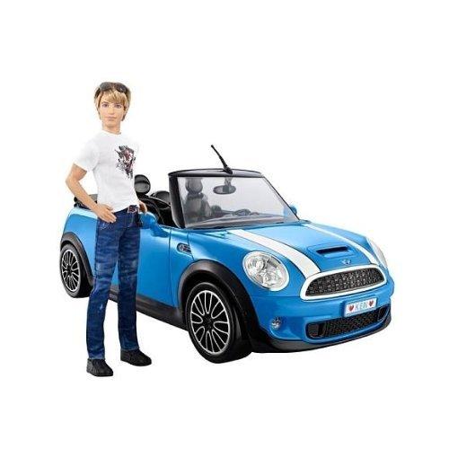 Barbie X2850 - Ken mit Mini-Cooper (Fahrzeug,