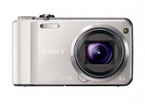 Black Friday Sony Cyber-Shot DSC-H70 16.1 MP Digital Still Camera with 10x Wide-Angle Optical Zoom G Lens and 3.0-inch LCD (Silver) Deals
