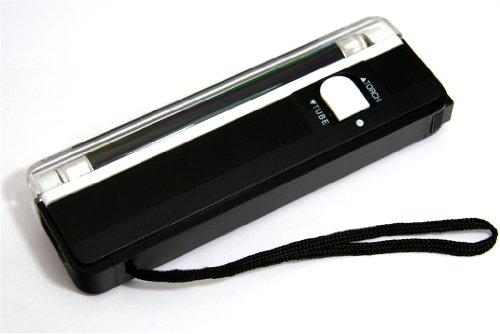 携帯に便利なUVブラックライト 4w 実用的な明るいLEDランプ付! 懐中電灯