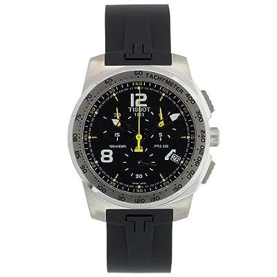 Tissot Men's T0364171705700 T-Sport Black Stainless Steel Watch from Tissot
