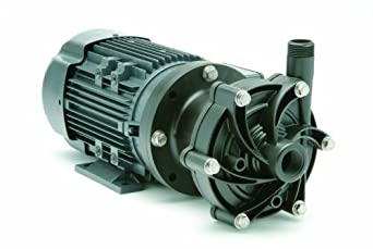 Finish Thompson DB6V-T-M226 Centrifugal Magnetic Drive Pump, PVDF, 1/2 HP, 115/208-230V, 1 Phase, 33.0 Max Feet of Head, 40.0 gpm