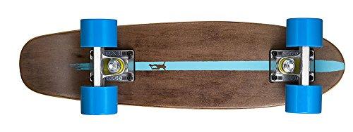 Ridge Skateboards Maple Mini Cruiser- NR2 Skateboard, Blu