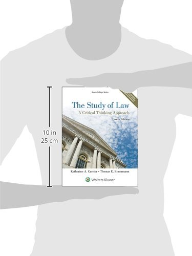 introduction to paralegal studies a critical thinking approach Available in: paperback introduction to paralegal studies: a critical thinking  approach introduces paralegal students to the law and legal.