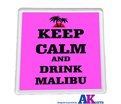 keep-calm-and-drink-malibu-coaster-adult-gift-stocking-filler