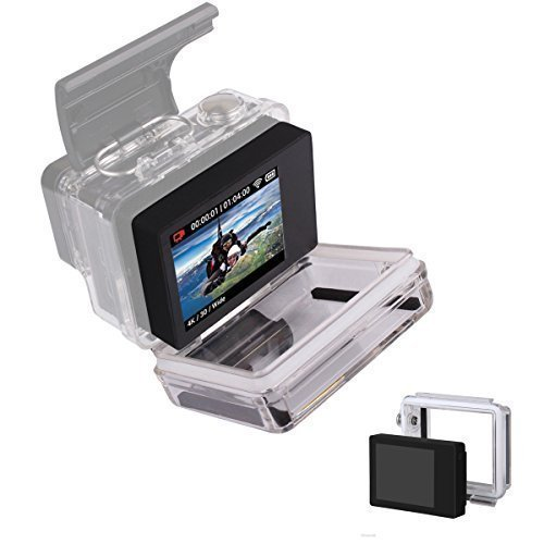 Great Features Of LCD BacPac External Monitor Display Viewer Screen and Back Cover Protective Case f...