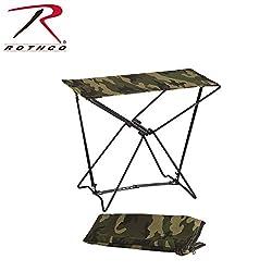 Rothco Folding Camp Stool, Woodland Camo