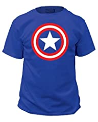 TeeShirtPalace Men's Captain America…