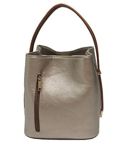 samoe-style-ladies-fashion-desinger-classic-bags-metallic-pewter-pu-leather
