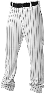 Don Alleson 605WPN Double Knit Polyester Adult Baseball Pants with Printed Pinstripes (Call 1-800-327-0074 to order)