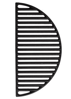 Half Moon Cast Iron Reversible Grate for Large Big Green Egg or any 18 Inch Grill (Big Green Egg Cooking Grid compare prices)