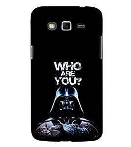 EPICCASE Who are You Mobile Back Case Cover For Samsung Galaxy Core Prime (Designer Case)