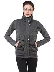 Grey Winter Zipper for Women by Bfly