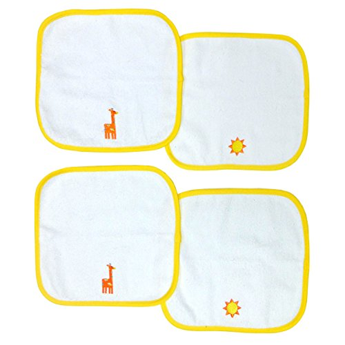 happy-chic-baby-by-jonathan-adler-4-pack-embroidered-print-woven-terry-washcloth-set-giraffe