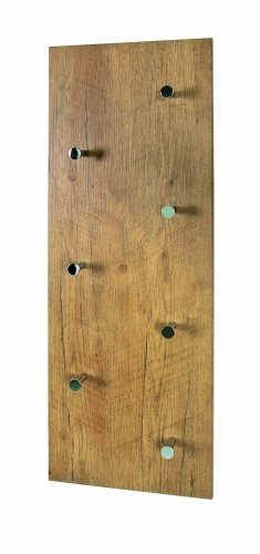 Garderobe aus holz was for Garderobenpaneel echtholz