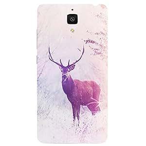 Back cover for Xiaomi Mi4 Wild deer