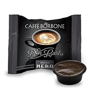 Caffè Borbone - 50 Capsule Don Carlo Compatibili Lavazza A Modo Mio Espresso - Miscela Nera