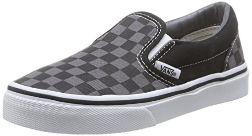 Vans CLASSIC SLIP-ON Low-Top Sneaker, Unisex Bambino, Multicolore (Checkerboard) EO0), 28