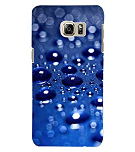 ColourCraft Water Drops Design Back Case Cover for SAMSUNG GALAXY NOTE 5 EDGE
