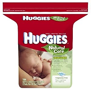 Huggies Natural Care Baby Wipes, 1104 Count, Fragrance Free