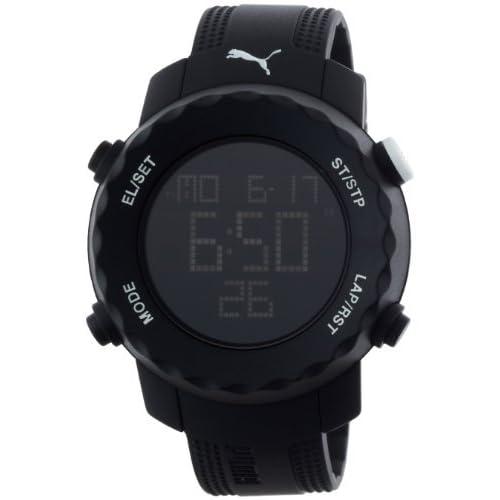 [プーマタイム] PUMA時計 PUMA Time 腕時計 シャープ オールブラック PU911031003 【正規輸入品】