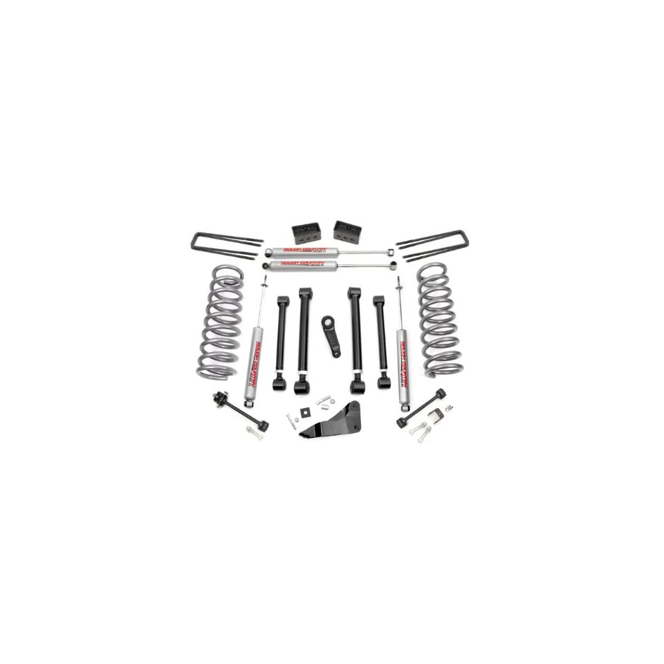 Rough Country   394.24   5 inch X Series Suspension Lift Kit w/ Premium N2.0 Shocks