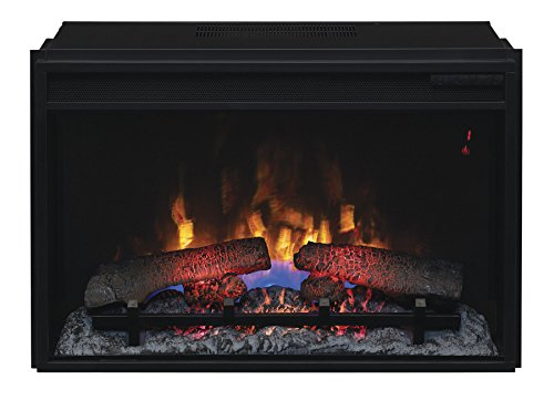 Classic Flame 26II310GRA Infrared SpectraFire Plus Insert with Safer Plug, 26-Inch