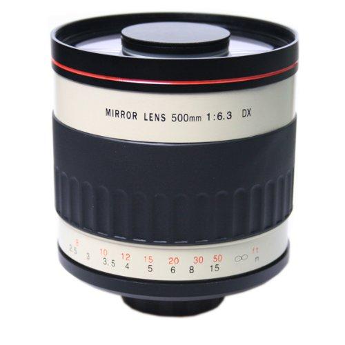 Generic 500Mm F/6.3 Mirror Lens Dx Reflex Telephoto For Canon Nikon Sony Pentax Olympus