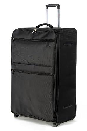 "Aerolite® Super Lightweight Expandable World lightest Suitcase Trolley Cases Bag Luggage (18"" 21"" 26"" 29"" 32"") (18"", Black)"