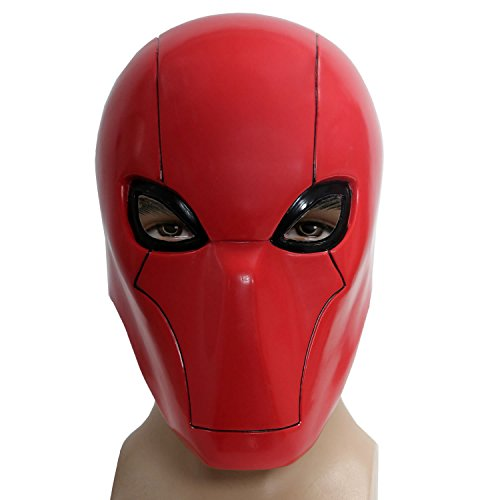 XCOSER Newest Version V3.2 Red Hood Mask for Movie cosplay Adult