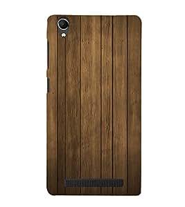 Wooden Pattern 3D Hard Polycarbonate Designer Back Case Cover for Intex Aqua Power Plus :: Intex Aqua Power +