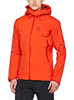 Haglöfs Chaqueta Shell Layer Insulated (Rojo)