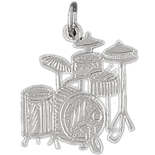 Clevereve's Sterling Silver Charm Musical Instruments