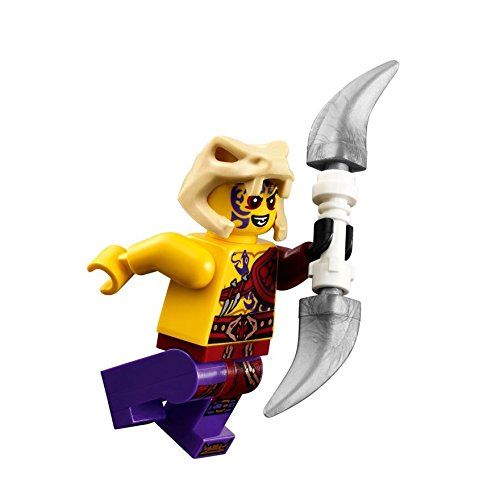 Lego Ninjago Kapau Minifigure with Double Blade