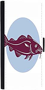 Snoogg Atlantic Codfish Retrodesigner Protective Flip Case Cover For Sony Xpe...
