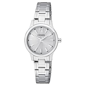 Citizen EL3030-59A women's small round face all stainless steel