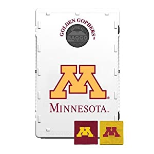 Buy Baggo 2203 University of Minnesota Golden Gophers Complete Baggo Bean Bag Toss Game by Baggo