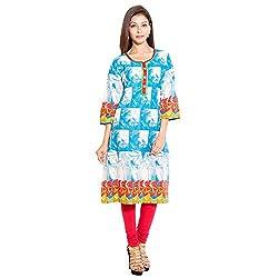 BELOMODA Women's Nice Cotton Kurta