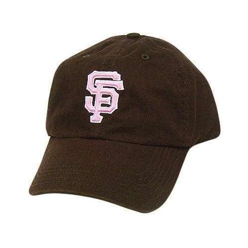 MLB SAN FRANCISCO GIANTS BROWN GARMENT WASH HAT CAP