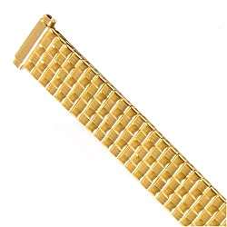 Watch Band Expansion Metal Stretch Gold Plated fits 12mm 13mm 14mm