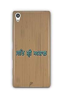 YuBingo Sat Shri Akal Designer Mobile Case Back Cover for Sony Xperia Z5 Premium / Z5 Plus