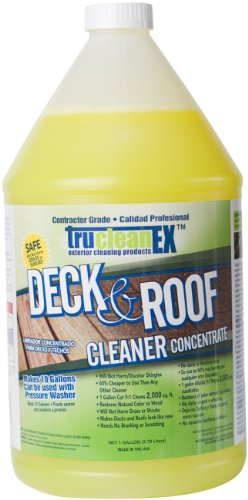 Cfi Products Trucleanex Deck And Roof Cleaner Concentrate