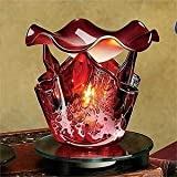 StealStreet SS-A-59608 Electric Oil Burner Collectible Incense Burner, Aromatherapy Decoration