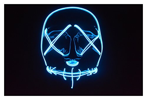 The Purge: Election Year El Wire Mask (Blue)