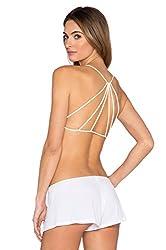 Fashion New White Pyramid Style Bralette freesize