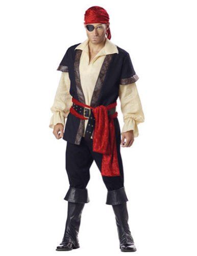 Pirate Xl Adult Mens Costume