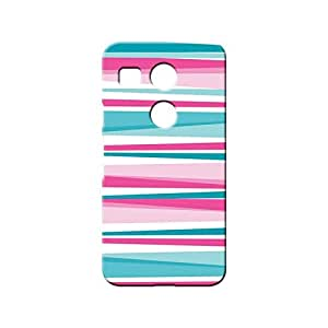 BLUEDIO Designer 3D Printed Back case cover for LG Nexus 5X - G3263