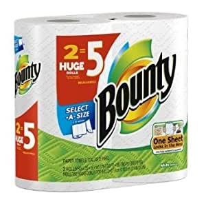 Bounty Select A Size Paper Towels, Huge Size, 24 Count [Item #82579]